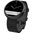 Умные часы для Samsung Motorola Moto 360 Leather цвет Black