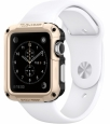 Пластиковый чехол для Apple Watch series 1 SGP-Spigen Tough Armor 42 мм цвет Champagne Gold (SGP11502)