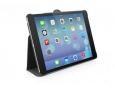 Кожаный чехол для iPad Air Macally Protective case and stand цвет black BSTANDPA5-B