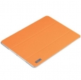 Кожаный чехол для iPad Air Rock Elegant Leather цвет orange T-iPadA-5038D