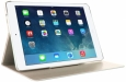Кожаный чехол для iPad Air 2 Puro Booklet цвет gold IPAD6BOOKSGOLD
