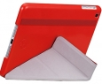 ����� ��� iPad Air Ozaki O! coat Slim-Y 360� smart case, ���� red (OC110RD)
