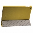 ������� ����� ��� iPad Air Melkco Leather Case Slimme Cover Ver.1, ���� Yellow LC (APIPDALCSC1)