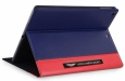 Кожаный чехол для iPad Air Aston Martin Racing Folio case цвет blue/red TDBKIPAD4B063