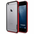 Бампер для iPhone 6 / 6S SGP-Spigen Neo Hybrid EX Series, цвет красный/red (SGP11025)