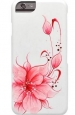 ����������� �����-�������� ��� iPhone 6 / 6S iCover HP Flower ���� Pink IP6/4.7-HP/W-FB/P