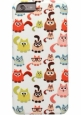����������� �����-�������� ��� iPhone 6 / 6S iCover Cats Comics 26 IP6/4.7-DEM-CO26