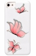 ����������� �����-�������� ��� iPhone 6 / 6S iCover HP Pure Butterfly ���� White / Pink IP6/4.7-HP/W-PB/P