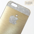 Чехол для iPhone 6 / 6S SWAROVSKI Apple Basic цвет gold