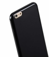 Полиуретановый чехол-накладка для iPhone 6 Plus / 6S Plus Melkco Poly Jacket TPU Case цвет black Mat APIPL6TULT2BKMT