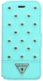 Чехол для iPhone 6 Plus / 6S Plus Guess Tessi Booktype, цвет голубой/light green (GUFLBKP6LSTG)