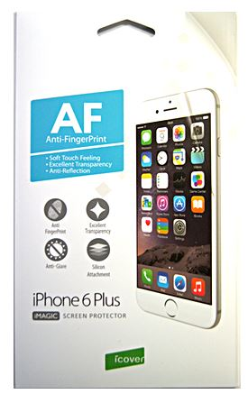 Защитная пленка для экрана iPhone 6 Plus / 6S Plus iCover Screen Protector Anti-shock IP6/5.5-AS/SP-HC – фото 14573.41