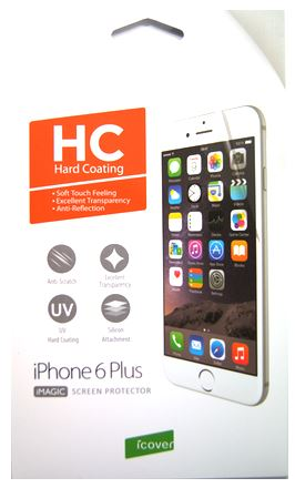 Защитная пленка для экрана iPhone 6 Plus / 6S Plus iCover Screen Protector Hard Coating IP6/5.5-SP-HC – фото 14574.41