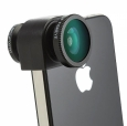 Объектив для iPhone SE/5S/5 Olloclip 3 in 1, цвет black