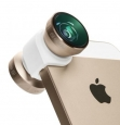 Объектив для iPhone SE/5S/5 Olloclip 4 in 1, цвет gold (OCEU-IPH5-FW2M-GDW)