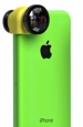 Объектив для iPhone 5C Olloclip 3 in 1, цвет yellow (OCEU-5C-FWM-BKYL)
