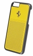 Кожаный чехол-накладка для iPhone 6 / 6S Ferrari GT Berlinetta Leather Hard Case цвет yellow FEGTBGHCP6YE