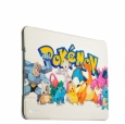 Чехол-книжка для iPad Air 2 UV-print Birscon Fashion series (Pokemon GO) Тип 4, цвет белый/покемоны (14107)