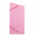 Чехол-книжка для iPad Air 2 iBacks iFling VV Structure Leather Case Business Series цвет розовый 10826