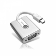 Адаптер для MacBook Mini DisplayPort to VGA Adam Elements M1, цвет Silver (AAPADM1SL)