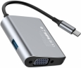 Переходник Baseus Enjoyment USB-C to VGA/USB 3.0 (CATSX-E0G)