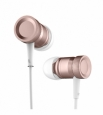 Стерео-наушники Rock Mula Stereo Earphone цвет rose Gold RAU0511