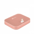 Док-станция с индикатором для iPhone COTEetCI Base 12 Lightning Stand Breathe Light цвет Rose Gold (CS5015-MRG)