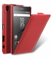Кожаный чехол для Sony Xperia Z5 Premium Melkco Premium Leather Case Jacka Type цвет red