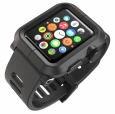Поликарбонатный чехол для Apple Watch series 1 42 mm LunaTik EPIK Polycarbonate цвет black EPIK-001