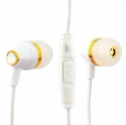 Наушники Hoco M4 Colorful Universal Earphone с микрофоном цвет white 06042