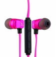 Наушники Hoco Wire Headphone With Mic с микрофоном цвет pink EPV02