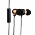 Наушники Hoco Common Headphone With Mic с микрофоном цвет golden EPM01