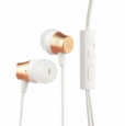 Наушники Hoco Common Headphone With Mic с микрофоном цвет golden EPM02