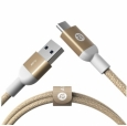 Кабель USB Type-C male to USB 3.0 male Adam Elements CASA M100 цвет gold ACBAD100CSMGD