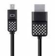 Адаптер Belkin Mini DisplayPort to HDMI 4К 30Hz 3.6 м (F2CD080BT12)