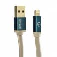 Кабель USB - Lightning COTEetCI M16 Jelly series 1 м, цвет серый (CS2123-GY)