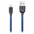 Кабель USB / Lightning Remax Sagitar Double Sided 1 м цвет Blue