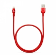 Кабель Lightning - USB Adam Elements PeAk Cable 120B, цвет красный/red (ACBAD120MBFR3RD)