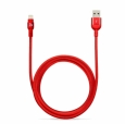 Кабель Lightning - USB Adam Elements PeAk Cable 300B, цвет красный/red (ACBAD300MBFR3RD)