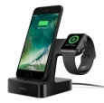 Док-станция для Apple Watch + iPhone Belkin PowerHouse™ Charge Dock, цвет black (F8J200vfBLK)