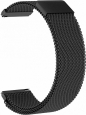 Металлический ремешок для Samsung Gear Sport/S2 Classic/Galaxy Watch (42 mm)/ Watch Active GSMIN Milanese Loop 20 цвет черный BT019298 – фото 36931.41