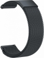 Металлический ремешок для Samsung Gear Sport/S2 Classic/Galaxy Watch (42 mm)/ Watch Active GSMIN Milanese Loop 20, цвет темно-серый (BT888473)