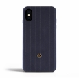 Чехол-накладка для iPhone X/XS Revested Timeless Hard, цвет синий/pinstripe blue (CV-PS01X0462)