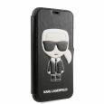 Чехол-книжка для iPhone 11 Pro Lagerfeld PU Leather Iconik Karl Booktype stand цвет черный KLFLBKSN58FIKPUBK – фото 38457.48