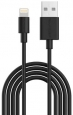 Кабель USB to Lightning RAVPower Charge&Sync USB Cable MFI 2m, цвет черный (RP-CB031)