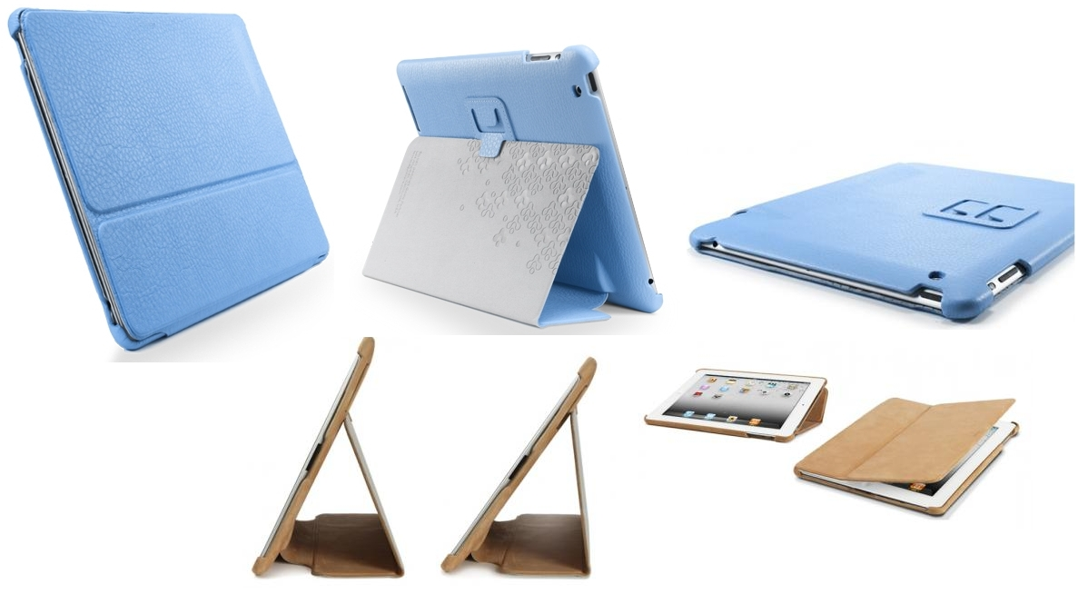 ������� ����� ��� iPad 2 SGP Leather Case Stehen Series