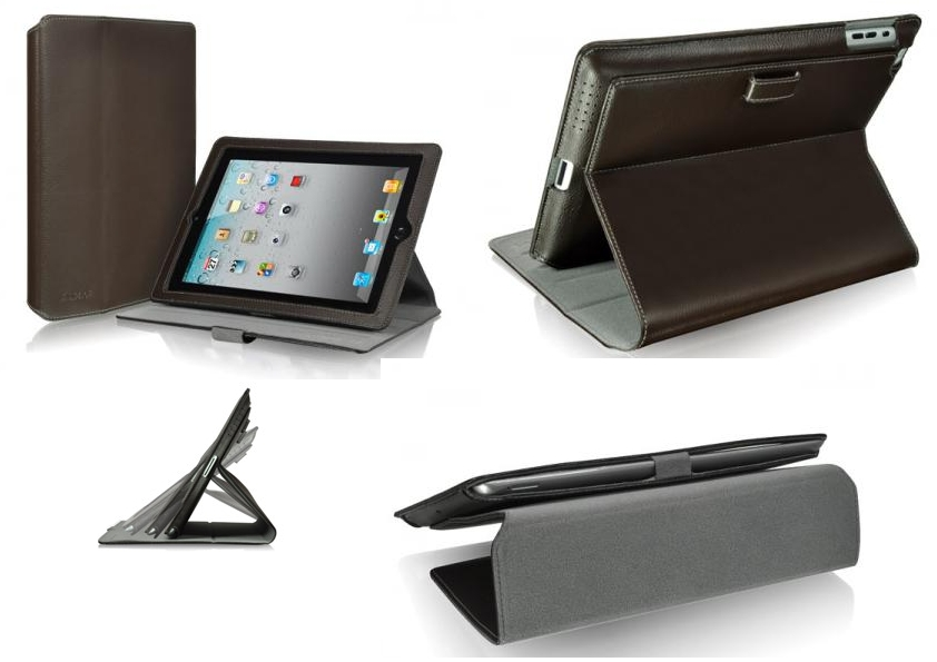 ����� ��� iPad 2 LUXA2 Metis Leather Stand Case