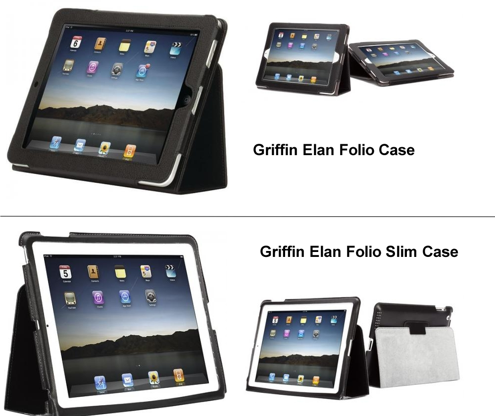 �����-��������� ��� iPad 2 Griffin Elan Folio Case
