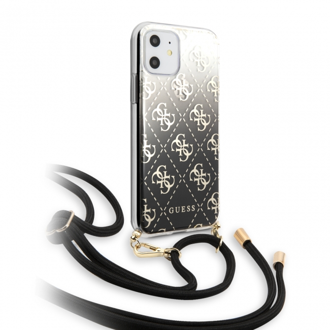 Чехол для iPhone 11 GUESS 4G Cord collection